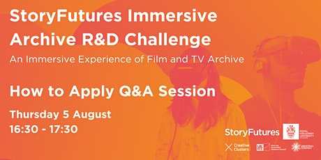 Immersive Archive R&D Challenge: How to Apply Q&A 1 tickets