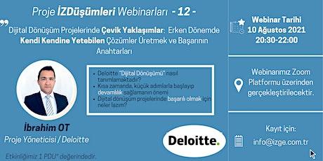 Dijital Dönüşüm Projelerinde Çevik Yaklaşımlar tickets