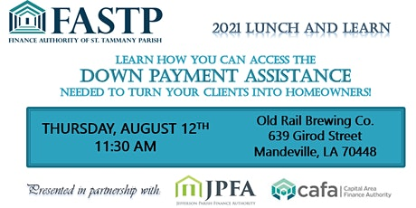 FASTP Lunch and Learn tickets
