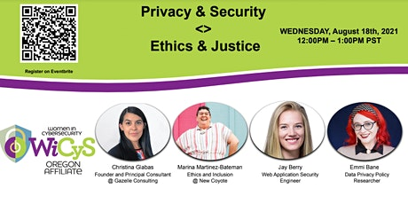 Privacy & Security / Ethics & Justice tickets