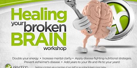 Healing Your Broken Brain tickets