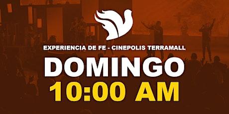 Experiencia de Fe 10:00am Cinepolis Terramall entradas
