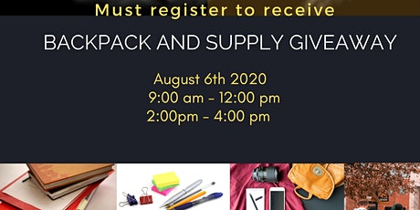4th Annual  Backpack giveaway event tickets