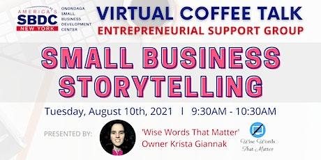 August SBDC Virtual Coffee Talk tickets