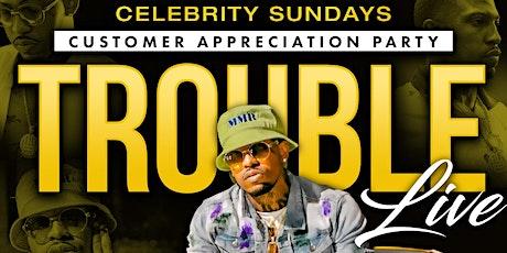 CELEBRITY SUNDAYS @ 321 LOUNGE W / TROUBLE LIVE tickets