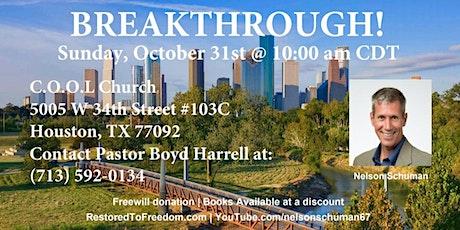 Breakthrough in Houston, TX tickets