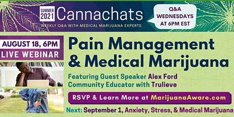 Pain Management & Medical Marijuana tickets