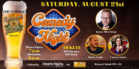 Comedy Night at Untapped Territory - a Beerly Funny Production tickets