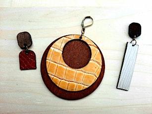 Wood & Leather Earrings tickets