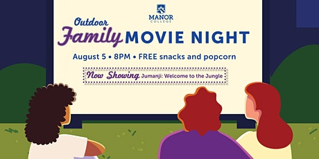 Manor College Outdoor Family Movie Night tickets