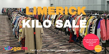 Limerick Kilo Sale Pop Up 14th-15th August tickets