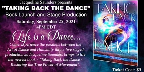 """""""TAKING BACK THE DANCE"""" Book Launch and Stage Presentation tickets"""