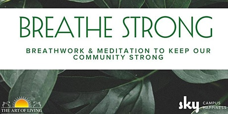 Breathe Strong Online: Free workshop to help relieve stress tickets