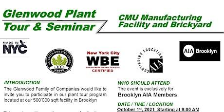 Glenwood Plant Tour & Seminar - CMU Carbon Sequestration Technology tickets