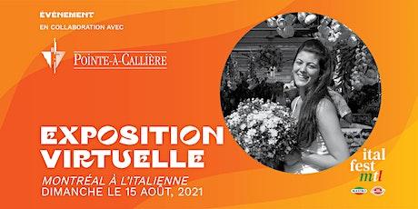 """Exposition Virtuelle de """"Montréal à l'italienne"""" tickets"""