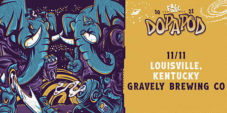 Dopapod  at Gravely Brewing - 11/11/21 tickets