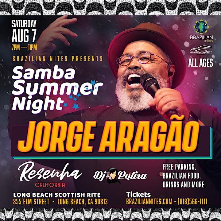 Samba Summer Night with Jorge Aragao image