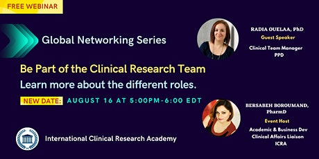 Be Part of the Clinical Research Team tickets