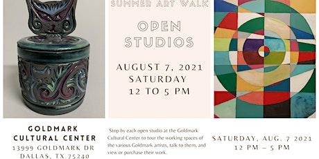 Summer Art Walk & Open Studios tickets