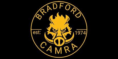 Bradford CAMRA social tickets