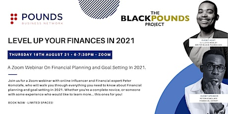 Level Up Your Finances in 2021 tickets