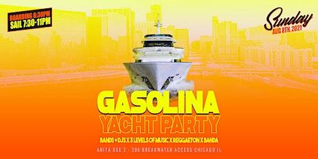 Gasolina Yacht Party!! 3 Floors of Music Reggaeton, Banda & Hip Hop tickets