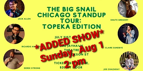 THE BIG SNAIL CHICAGO STAND-UP SHOW tickets