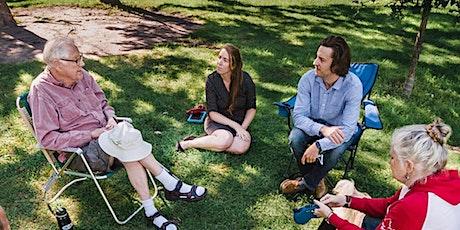 Caregiver Support Group in a Park-Hog's Back Park tickets