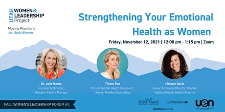 Strengthening Your Emotional Health as Women tickets