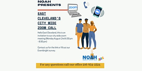 City - Wide Townhall Zoom Meeting tickets