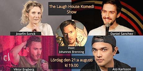 The Laugh House Ståupp Komedi 21:a augusti biljetter