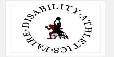 Virtual Disability Athletics Faire tickets