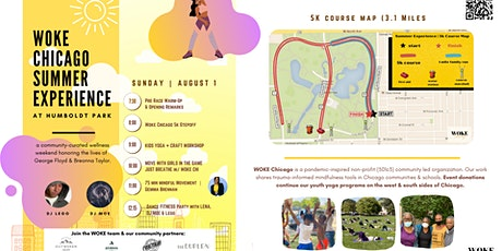 Woke Chicago Summer Experience | Kids Yoga |  5k | Dance Party tickets