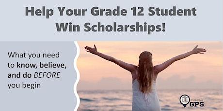 Help Your Grade 12 Student Win Scholarships! tickets