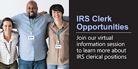 Virtual Information Session about the Clerk position tickets