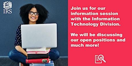 IRS Information Technology Virtual Job Fair tickets