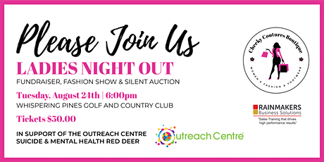 Ladies Night Out @ Whispering Pines Golf and Country Club (Donation Only) tickets
