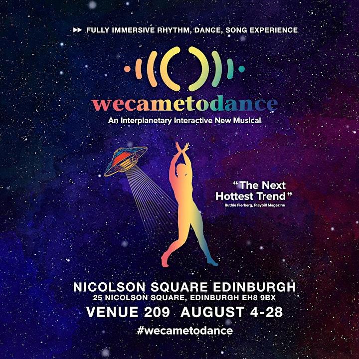 ((WeCameToDance))  at the 2021 Edinburgh Festival Fringe image
