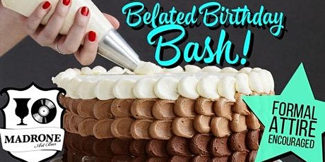 Wedding Crashers Presents: Belated Birthday Bash tickets