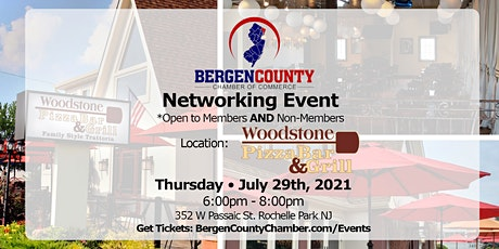 Bergen County Chamber - Networking Event at Woodstone Grill tickets