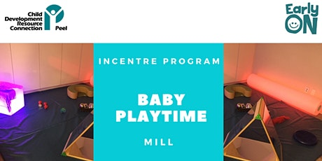 INCENTRE PROGRAM - Baby Playtime (Birth to 12 months) tickets