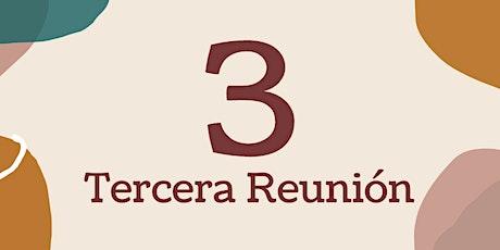 Tercera Reunión (3/3) entradas