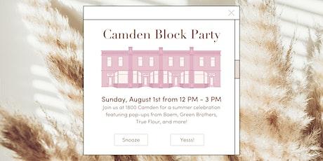 Camden Block Party tickets