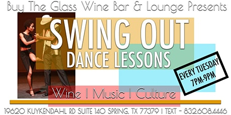Wine & Dance Class | Learn to Swing Out tickets