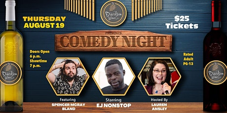 Comedy Night at Davidson Wine Co. - a Beerly Funny Production tickets