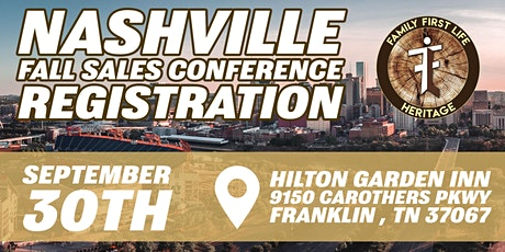 Family First Life Nashville Fall Conference tickets
