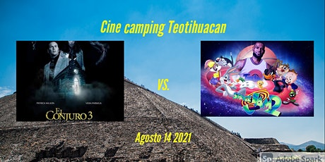 CINE CAMPING TEOTIHUACAN & TEEPE boletos