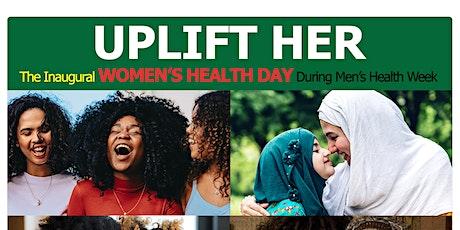 Uplift Her Women's Wellness Day - AA Wellness Black Men's Health Week tickets