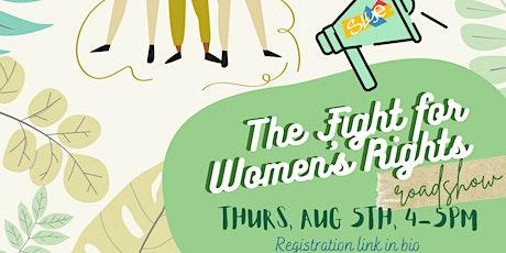 Online Roadshow: Women's Rights tickets
