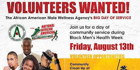 Big Day of Service - AA Wellness Black Men's Health Week tickets